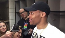 """Westbrook on Padding Assists: """"I Was 6 For 25. What The F*ck You Want Me to Do?"""" (Video)"""