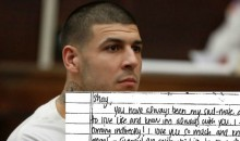 Aaron Hernandez's Suicide Note to His Fiancée Released: 'You're Rich'