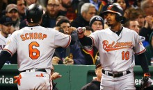Orioles' Adam Jones Berated By Racist Taunts at Fenway Park: 'I Was Called The N-Word'