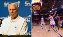 Gregg Popovich Goes Off on ZaZa For Being a Dirty Player: 'Ask David West. His Current Teammate' (VIDEO)