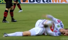 Soccer Player Displays The Absolute Worst Flop In The History Of Sports (VIDEO)