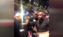 Floyd Mayweather Had A Drink Thrown On Him In London (VIDEO)