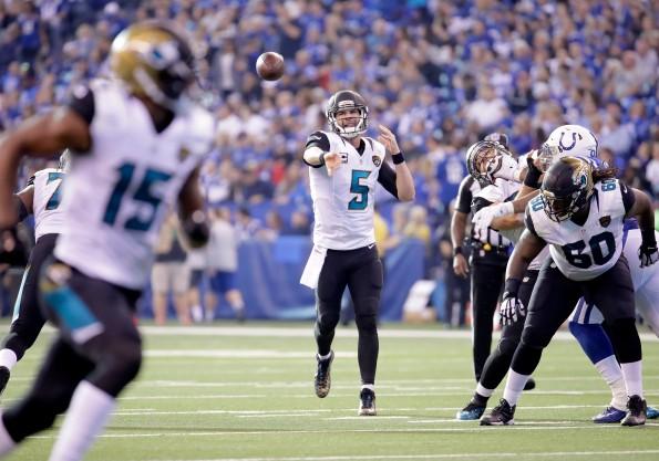 Jacksonville Jaguars v Indianapolis Colts