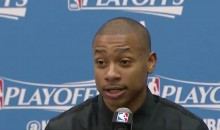 Isaiah Thomas Downplays Celtics' 'Funeral' Attire: 'I Wear Black All The Time' (VIDEO)