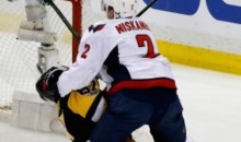 Caps' Matt Niskanen Ejected for Brutally Crosschecking Sidney Crosby in the Face (Video)