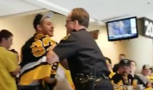 Rowdy Penguins Fan Fights With Officers & Gets Tazed For His Troubles; Reportedly Chokes Female Cop (VIDEO)