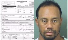 "Tiger Woods DUI Police Report: He Had ""No Idea"" Where He Was (PICS)"