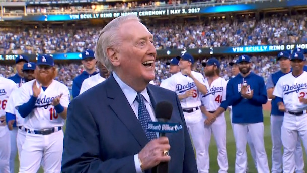 Vin Scully Dodgers Ring of Honor