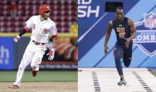 Reds Speedster Billy Hamilton Challenges Bengals Draft Pick John Ross to a Race