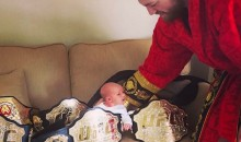 Conor McGregor Already Using Newborn Son to Troll Floyd Mayweather (Pics)
