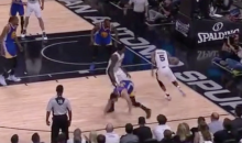 Stephen Curry Says Dewayne Dedmon's Screen In Game 3 Was a 'Dirty Play' (VIDEO)