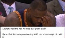 The Internet DESTROYED LeBron James After Dropping 11 Points in Game 3 Loss (TWEETS)