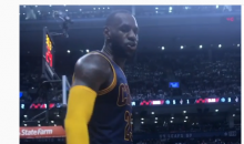LeBron James To Heckling Raptors Fan: 'You Mad or Nah?' (VIDEO)