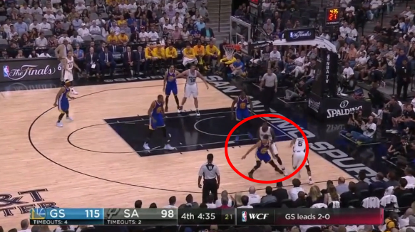Steph Curry calls out Spurs center Dewayne Dedmon for 'dirty play'