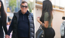 Still Married Former Clippers Owner Donald Sterling Takes His Newest Side Chick Shopping (PHOTOS)
