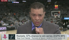 ESPN Reporter Chokes On a Bug During Live Segment (VIDEO)