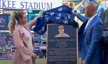 Yankees Unveil Derek Jeter Plaque In Monument Park, And It Actually Looks Like Him (Videos)