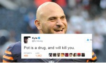Bears' Kyle Long Tells Joke About Weed On Twitter, Gets 'Random' Drug Test By The NFL
