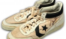 Signed Michael Jordan Converse Sneakers from 1984 Olympics Could Fetch $100K at Auction (Pic)