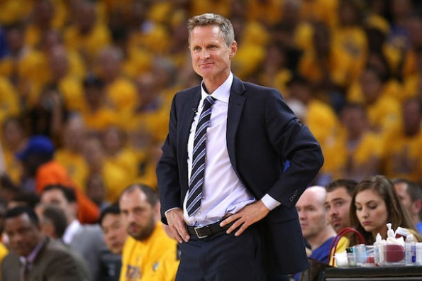 steve kerr halftime speech warriors comeback game 1 vs spurs
