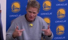 Steve Kerr Halftime Speech Inspires Warriors' Game 1 Comeback Win Over Spurs (Video)