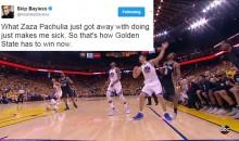 Social Media Reacts To Zaza Pachulia After He Injured Kawhi Leonard (TWEETS)