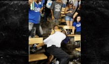 Bloody Brawl Breaks Out At Dodgers vs. Angels Game (VIDEO)