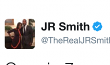 JR Smith Fires Off Delusional Tweet Immediately After Game 3 Loss