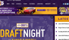 Lakers Make Horribly Embarrassing Mistake on Team Website Following D'Angelo Russell Trade (PIC)