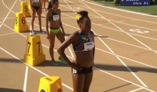 Watch Alysia Montaño Compete in the 800M, Four Months Pregnant, in 100 Degree Heat (VIDEO)