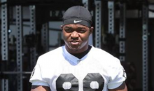 Raiders WR Amari Cooper Looks Ridiculously Jacked at Raiders Minicamp (PIC)