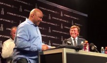 "Barkley Interrupts Gretzky Q&A: ""Who's Your Favorite Black Athlete?"" (Video)"