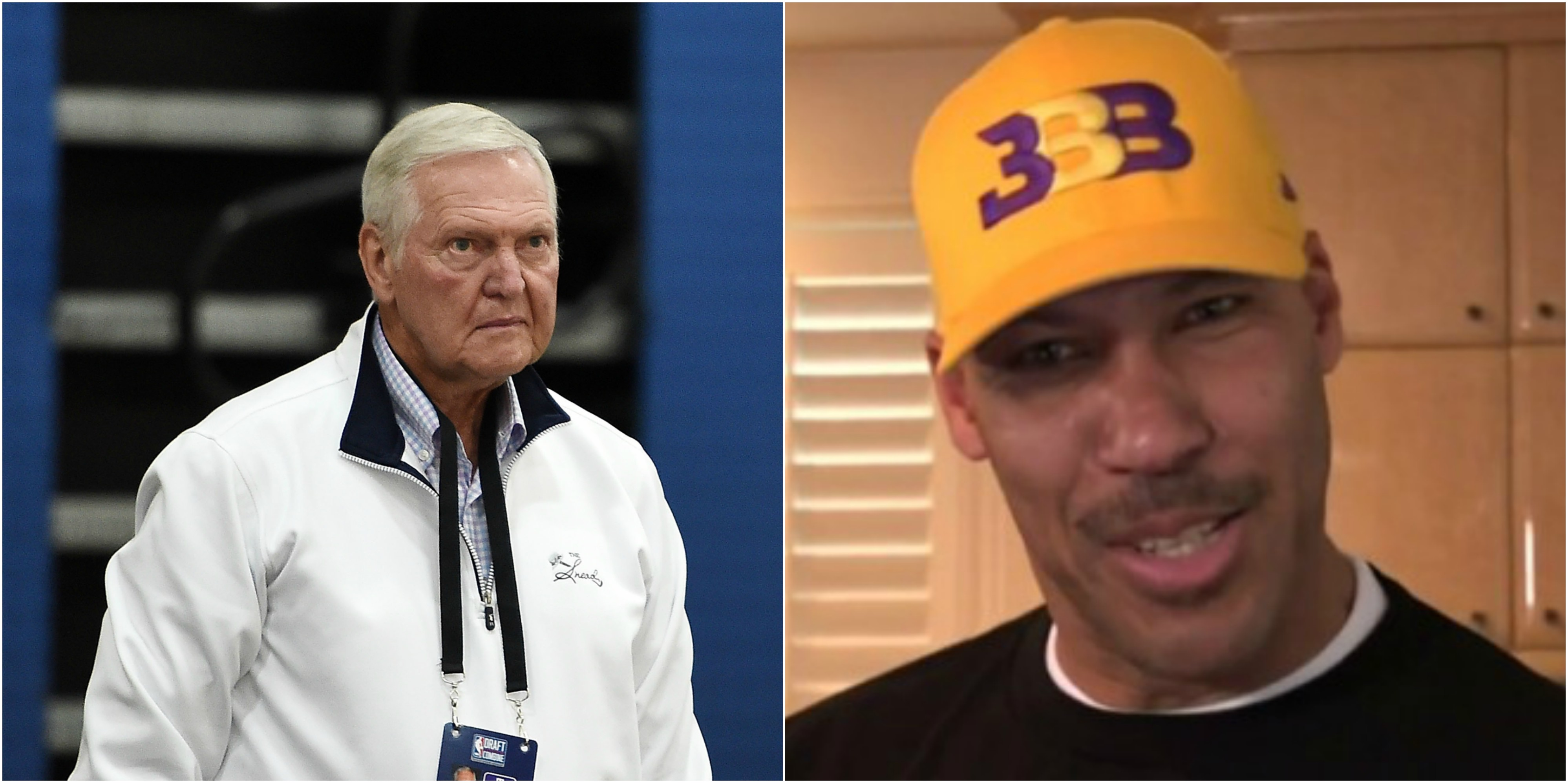 Jerry West LaVar Ball I Wouldn t Want A Father Like That
