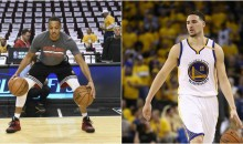 C.J. McCollum Tells Warriors Fans To Enjoy Klay, Because He's Leaving To Find His Own Team Soon