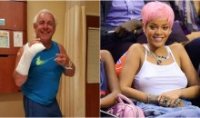 Ric Flair Allegedly Knocks Out Warriors Fan & Delivers a Message To Rihanna