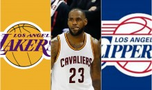 REPORT: LeBron Considering Leaving Cavs for Clippers, Lakers in 2018