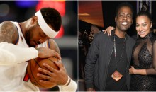 Carmelo Anthony Wants Chris Rock To Stay Away From His Wife La La (VIDEO)