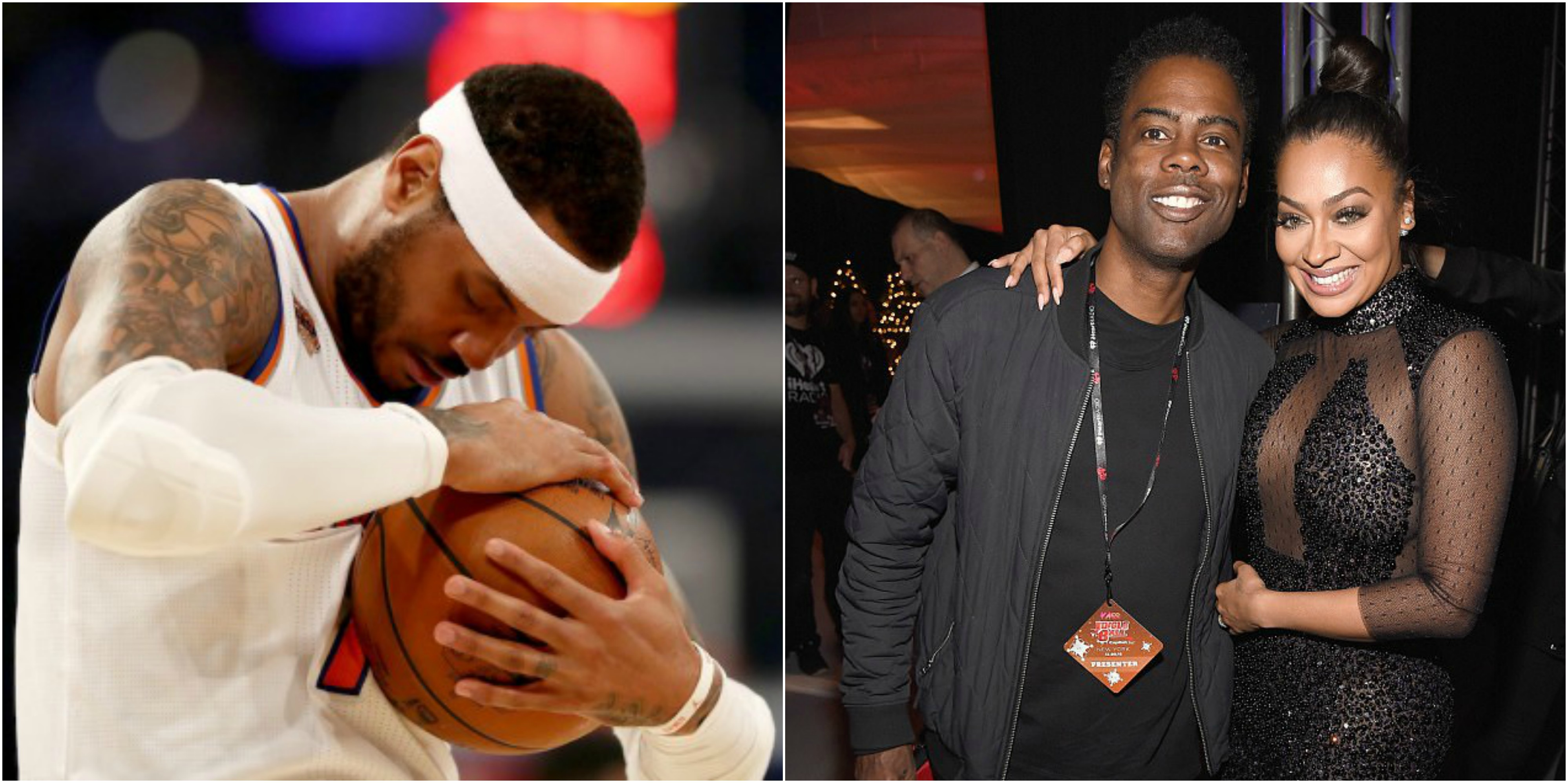 Total Pro Sports Carmelo Anthony Wants Chris Rock To Stay ...