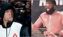 Adrien Broner Wants To Fight Nate Diaz on Mayweather-McGregor Undercard (VIDEO)