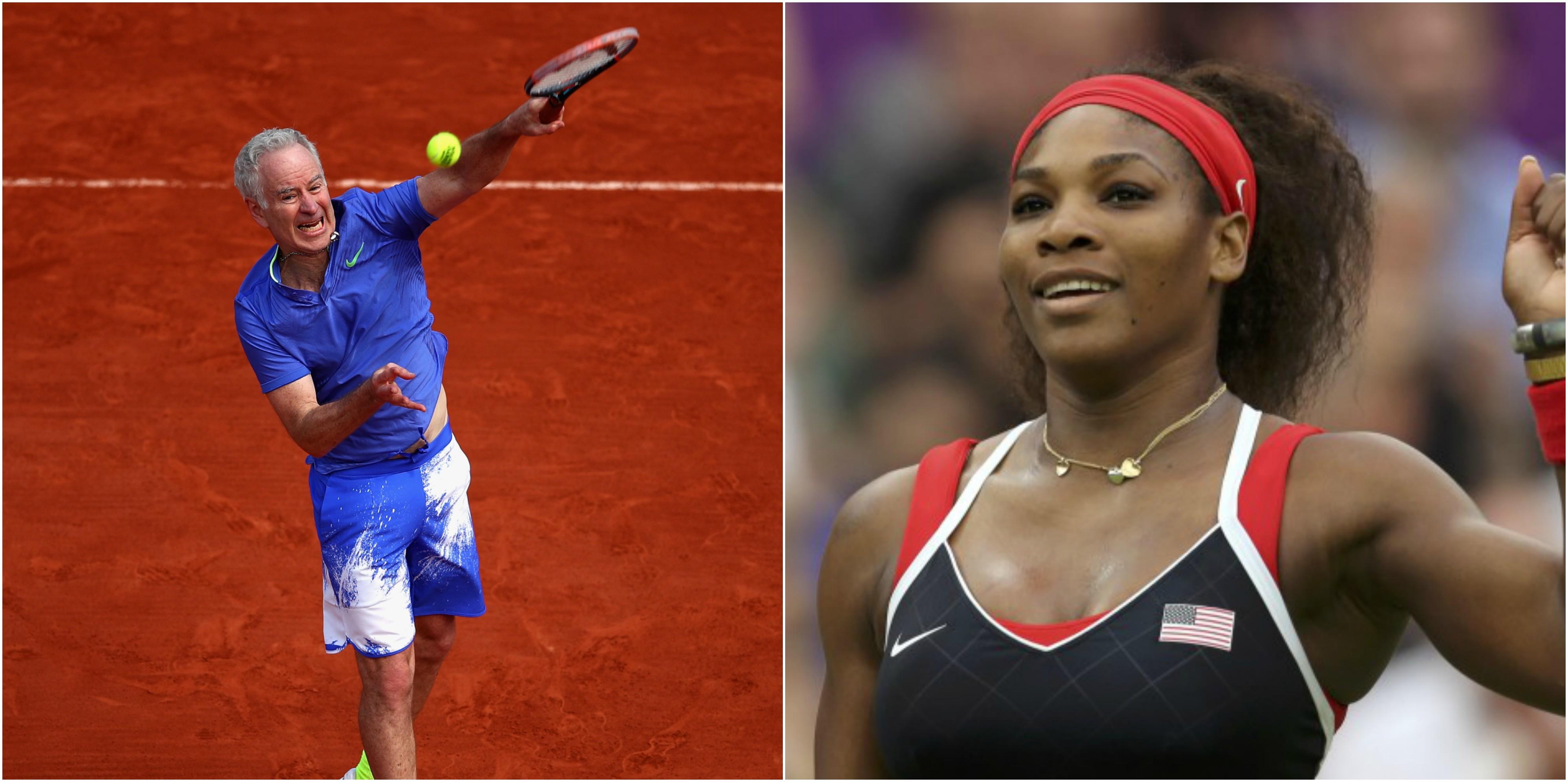John McEnroe Says Serena Williams Wouldn t Be A Top 700 Player