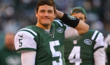REPORT: Christian Hackenberg Won't Stop Hitting Reporters With His Terrible Passes