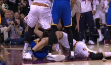Zaza Pachulia Appears To Take a Punch at Shumpert's Man Region (VIDEO)