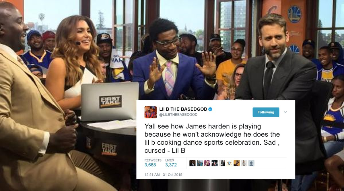 Rapper Lil B Lifts Curse On James Harden And Makes Good With