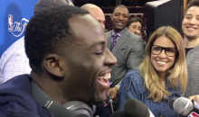Draymond Finds it Funny That Magic Johnson Thinks 'Showtime' Lakers Would Sweep The Warriors (VIDEO)