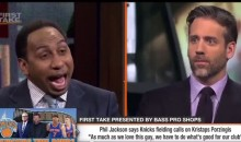 Stephen A. Smith Went On An Epic 'Crack' Rant About Phil Jackson & Lamar Odom (VIDEO)