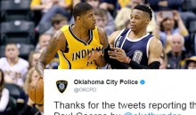 The OKC Police Just Trolled The Hell Out of The Pacers After Paul George Trade (TWEET)