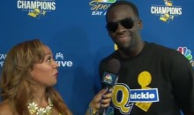 Draymond Says His 'Quickie' Tee Is In Reference To How Fast The Cavs Got Eliminated (VIDEO)