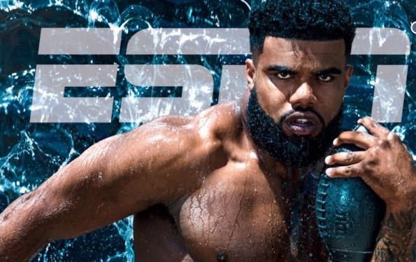 Ezekiel Elliott ESPN Body Issue