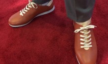 No. 1 Pick Markelle Fultz Wore Shoes Made of Basketballs to NBA Draft (PICS)