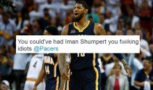 Indiana Pacers Fans Go OFF On The Team For Trading Paul George For Next To Nothing (TWEETS)